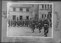 BNPS.co.uk (01202) 558833. <br /> Pic: Bosleys/BNPS<br /> <br /> Pictured: No 1 Squardron, 2nd Special Air Service, marching into their barracks at Bergen, Norway. <br /> <br /> Never before seen photos taken by a fishmonger turned SAS hero behind enemy lines in World War Two have come to light 76 years on.<br /> <br /> Sergeant Samuel Rushworth, of the 2nd Special Air Service, was dropped into occupied France two days before D-Day in June 1944.<br /> <br /> They were tasked with disrupting German reinforcements dispatched to Normandy following the Allied landings.