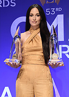 11/13/19 - Nashville:  53rd CMA Awards - Press Room