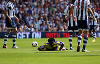 Pictured: Wilfried Bony.<br /> Sunday 01 September 2013<br /> Re: Barclay's Premier League, West Bromwich Albion v Swansea City FC at The Hawthorns, Birmingham, UK.