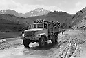 Iraq 1974 <br /> In times of armed struggle,transport of peshmergas by trucks  <br /> Irak 1974 <br /> Au temps de la lutte armée, transport de peshmergas en camion