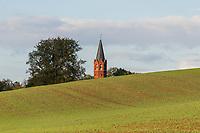 Kirchturm von Altkünkendorf, Angermünde, Uckermark, Brandenburg, Deutschland