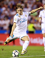 Real Madrid's Luka Modric during La Liga match. August 20,2017.  *** Local Caption *** © pixathlon +++ tel. +49 - (040) - 22 63 02 60 - mail: info@pixathlon.de