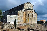 Romanische Kathedrale La Canonica bei Bastia, Korsika, Frankreich