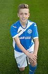 St Johnstone Academy Under 13's…2016-17<br />Euan Hay<br />Picture by Graeme Hart.<br />Copyright Perthshire Picture Agency<br />Tel: 01738 623350  Mobile: 07990 594431