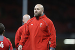 Wales conditioning coach Dan Baugh.<br /> RBS 6 Nations 2014<br /> Wales v Italy<br /> Millennium Stadium<br /> 01.02.14<br /> <br /> ©Steve Pope-SPORTINGWALES