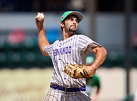 Hernando Leopards pitcher Dylan Duphily during the 42nd Annual FACA All-Star Baseball Classic on June 6, 2021 at Joker Marchant Stadium in Lakeland, Florida.  (Mike Janes/Four Seam Images)