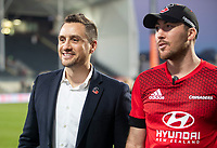 Tim Bateman after the 2020 Super Rugby match between the Crusaders and Highlanders at Orangetheory Stadium in Christchurch, New Zealand on Saturday, 9 August 2020. Photo: Joe Johnson / lintottphoto.co.nz