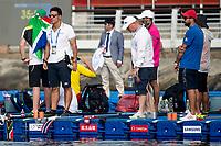 RUBAUDO Stefano, ANTONELLI Fabrizio ITA<br /> Yeosu South Korea 14/07/2019<br /> Open Water Women's 10KM<br /> 18th FINA World Aquatics Championships<br /> Expo Ocean Park <br /> Photo © Andrea Masini / Deepbluemedia / Insidefoto