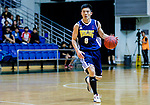 Lau CHi Kin #8 of Winling Basketball Club dribbles the ball up court against the Nam Ching during the Hong Kong Basketball League game between Nam Ching vs Winling at Southorn Stadium on May 11, 2018 in Hong Kong. Photo by Yu Chun Christopher Wong / Power Sport Images