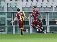 Torino 03-04-2021<br /> Stadio Grande torino<br /> Serie A  Tim 2020/21<br /> Torino - Juventus<br /> Nella foto: Sanabria esultanza                                  <br /> Antonio Saia Kines Milano