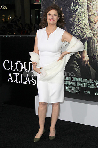 HOLLYWOOD, CA - OCTOBER 24: Susan Sarandon at the Los Angeles premiere of 'Cloud Atlas' at Grauman's Chinese Theatre on October 24, 2012 in Hollywood, California. Credit: mpi21/MediaPunch Inc.