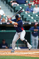 Toledo Mudhens Alberto Gonzalez (4) bats during a game against the Buffalo Bisons on May 18, 2016 at Coca-Cola Field in Buffalo, New York.  Buffalo defeated Toledo 7-5.  (Mike Janes/Four Seam Images)