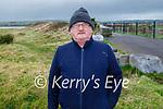 Brendan Sweeney taking a stroll in Lohercannon on Monday