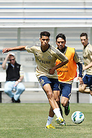 Prior to playing Manchester City in a friendly game at Busch Stadium, home of the St Louis Cardinals baseball team, Chelsea held a closed practice at Robert R Hermann Stadium on the campus of Saint Louis University..Oriol Romeu.