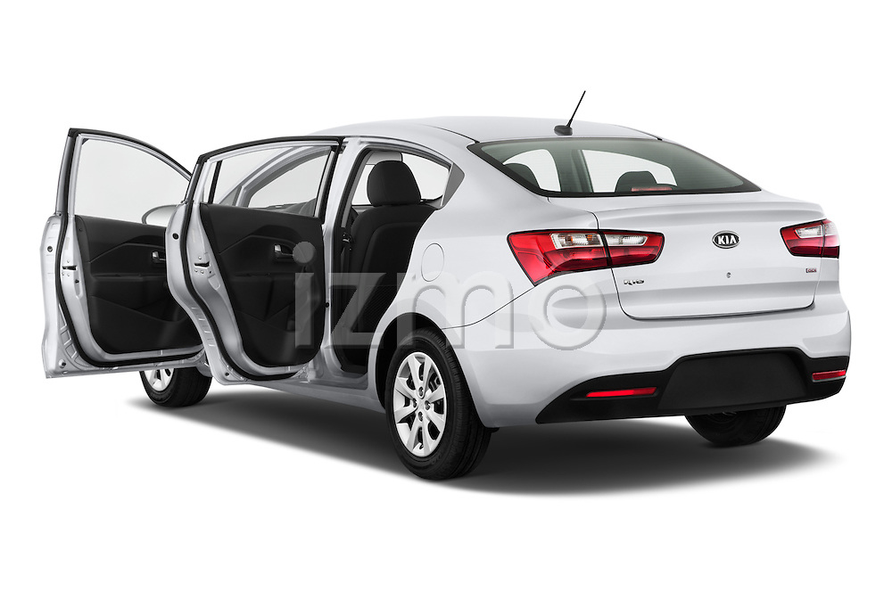 Car images of a 2015 KIA Rio LX AT 4 Door Sedan 2WD Doors