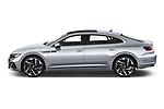 Car Driver side profile view of a 2021 Volkswagen Arteon SEL-Premium-R-Line 5 Door Hatchback Side View