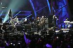 ROCK & ROLL HALL OF FAME CONCERT AT MADISON SQUARE GARDEN, U2,Black Eyed Peas, Mick Jagger