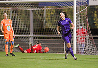 Tine De Caigny (6 Anderlecht) celebrates her goal during a female soccer game between RSC Anderlecht Dames and AA Gent Ladies  on the seventh matchday of the 2020 - 2021 season of Belgian Womens Super League , friday 13 th of November 2020  in Overijse , Belgium . PHOTO SPORTPIX.BE | SPP | SEVIL OKTEM