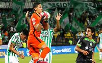 MEDELLÍN- COLOMBIA,  12-09-2021 .Atlético Nacional  y La Equidad en partido por la fecha 9 como parte de la Liga BetPlay DIMAYOR II 2021 jugado en el estadio Atanasio Girardot  de la ciudad de Medellín. / Atletico Nacional and La Equidad during match date 9 Betplay DIMAYOR League II 2021 played at  Atanasio Girardot stadium in Medellín city. Photo: VizzorImage / Donaldo Zuluaga / Contribuidor