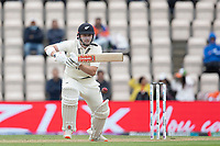 Henry Nicholls of New Zealand defends during India vs New Zealand, ICC World Test Championship Final Cricket at The Hampshire Bowl on 22nd June 2021