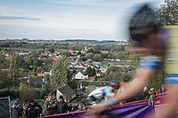 Men U23 race on top of the Koppenberg. <br /> <br /> Koppenbergcross Belgium 2018