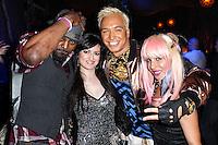 "LOS ANGELES, CA - JUNE 14: Dave Scott, Vikki Lizzi, Kuba Ka and Sabrina Parisi attends Polish popstar Kuba Ka performance for his single ""Stop Feenin'"" at Hyde Nightclub on June 14, 2013 in Los Angeles, California. (Photo by Celebrity Monitor)"