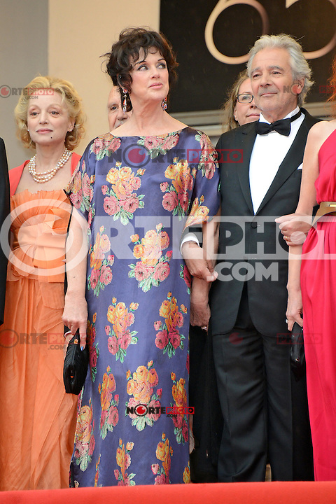"""Anny Duperey and Pierre Arditi attending the """"vous n avez encore rien vu (You ain t seen nothin yet)"""" Premiere during the 65th annual International Cannes Film Festival in Cannes, 21th May 2012...Credit: Timm/face to face /MediaPunch Inc. ***FOR USA ONLY***"""