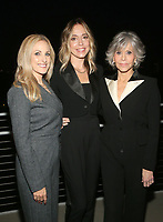 LOS ANGELES, CA - OCTOBER 6: Marlee Matlin, Sian Heder, Jane Fonda, at the 2021 WIF Honors Celebrating Trailblazers Of The New Normal at the Academy Museum of Motion Pictures in Los Angeles, California on October 6, 2021. <br /> CAP/MPIFS<br /> ©MPIFS/Capital Pictures