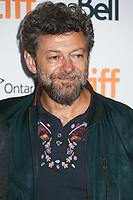 PRODUCER ANDY SERKIS - RED CARPET OF THE FILM 'THE RITUAL' - 42ND TORONTO INTERNATIONAL FILM FESTIVAL 2017 . TORONTO, CANADA, 09/09/2017. # FESTIVAL DU FILM DE TORONTO - RED CARPET 'THE RITUAL'