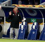 25.02.2021 Rangers v Royal Antwerp: Frank Vercauteren