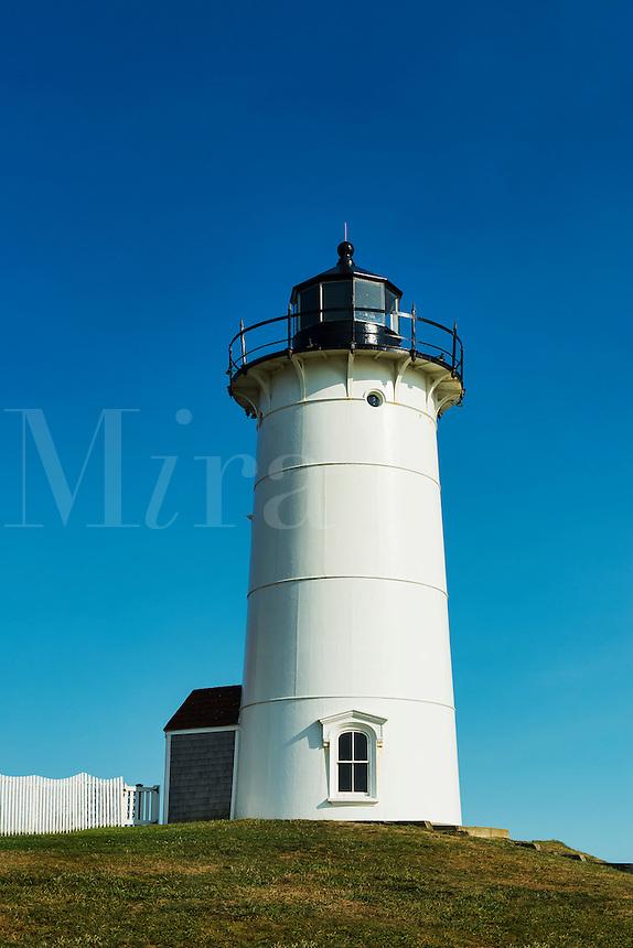 Nobska Lighthouse, Woods Hole, Cape Cod, Massachusetts, USA