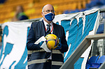 St Johnstone v Hibs……23.08.20   McDiarmid Park  SPFL<br />Paul Smith disinfecting balls durng the game<br />Picture by Graeme Hart.<br />Copyright Perthshire Picture Agency<br />Tel: 01738 623350  Mobile: 07990 594431