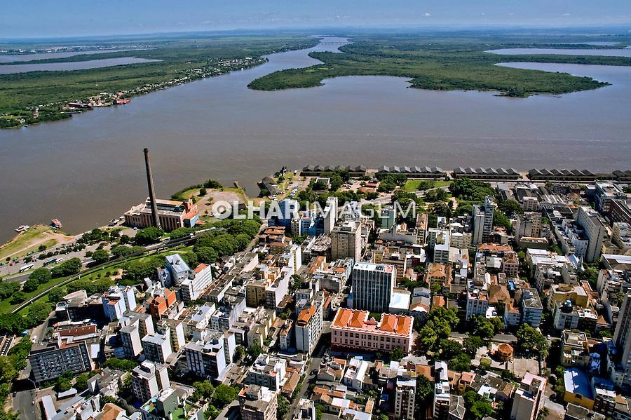Aérea da cidade de Porto Alegre. Rio Grande do Sul. 2009. Foto de Cris Berger.
