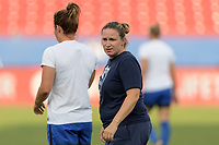 Frisco, TX - Sunday September 03, 2017: Laura Harvey during a regular season National Women's Soccer League (NWSL) match between the Houston Dash and the Seattle Reign FC at Toyota Stadium in Frisco Texas. The match was moved to Toyota Stadium in Frisco Texas due to Hurricane Harvey hitting Houston Texas.