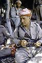 Irak 1985  Dans les zones libérées, région de Lolan, Dr. Said Barzani commandant de peshmergas  Iraq 1985.In liberated areas, Lolan district, Dr. Said Barzani,chief commander of the region