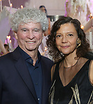 Honoree Tony Bechara and Chashama Founder Anita Durst  during The Chashama Gala at 4 Times Square on June 7, 2018 in New York City.