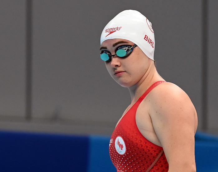 Morgan Bird, Tokyo 2020 - Para Swimming // Paranatation.<br /> Morgan Bird competes in the women's 50m freestyle // Morgan Bird participe au 50m nage libre féminin. 09/1/2021.