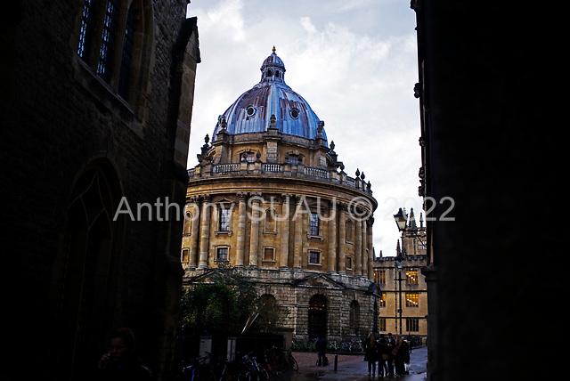 Oxford University<br /> Oxford, United Kingdom<br /> November 28, 2018<br /> <br /> Radcliffe Camera.