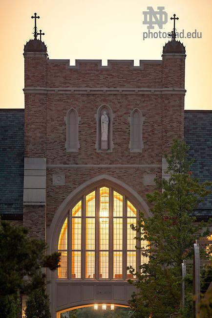 August 30, 2017; Eck Law arch (Photo by Matt Cashore/University of Notre Dame)