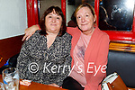 Enjoying the evening in The Dunloe Lodge in Killarney on Saturday, l to r: Sandra and Alison O'Connor from Killarney.