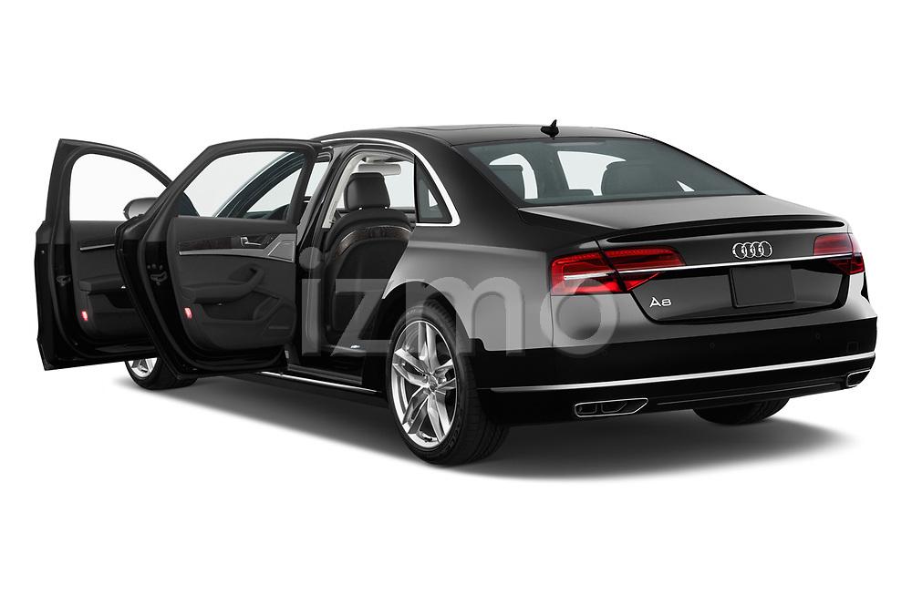 Car images close up view of 2015 Audi A8 3.0T SWB quattro tiptronic 4 Door Sedan doors