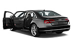 Car images close up view of 2015 Audi A8 3.0T SWB quattro tiptronic 4 Door Sedan doors
