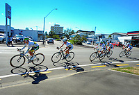 The Australia national team competes in race one of the Trust House Women's Cycle Tour Of New Zealand in Masterton, New Zealand on Wednesday, 18 February 2015. Photo: Dave Lintott / lintottphoto.co.nz