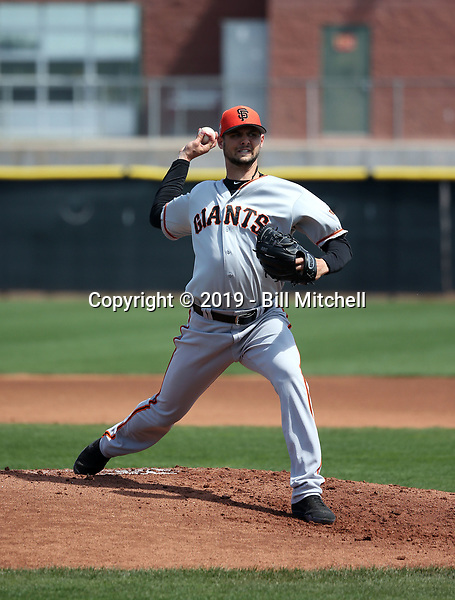 Tyler Beede - San Francisco Giants 2019 spring training (Bill Mitchell)