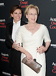 LOS ANGELES, CA - December 16: Meryl Streep and Julia Roberts arrives at  The Weinstein Company L.A. Premiere of August : Osage County held at The Premiere House at Regal Cinemas L.A. Live  in Los Angeles, California on December 16,2013                                                                               © 2013 Hollywood Press Agency