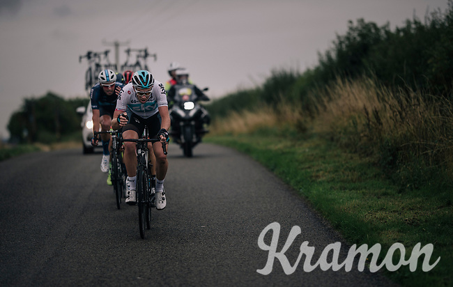 Ian Stannard (GBR/SKY) decided that today was the day for a full on attack<br /> <br /> Stage 7: West Bridgford to Mansfield (215km)<br /> 15th Ovo Energy Tour of Britain 2018