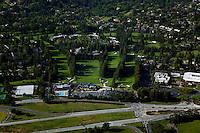 aerial photograph Menlo Park, California