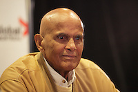 September 19, 2012 - Montreal (Qc) CANADA - Harry Belafonte, recipient of the 2012 Humanitarian Prize,<br />  press conference for the legendary at the Montreal International Black Film Festival (MIBFF)