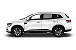 Car driver side profile view of a 2018 Renault Koleos Intens 4wd 5 Door SUV