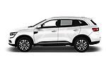 Car driver side profile view of a 2018 Renault Koleos Intens 4wd 5 Door SUV